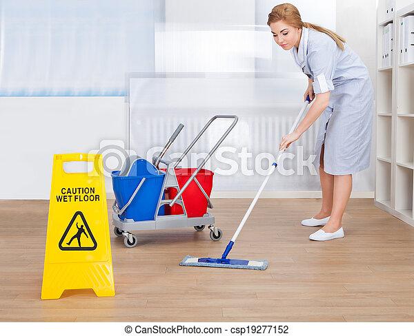 Archivi immagini di felice domestica pulizia pavimento for Piani di progettazione domestica indiana con foto