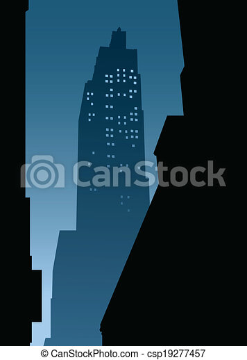 New York City Night - csp19277457