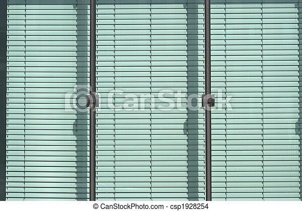 Jalousie, fenêtre - csp1928254