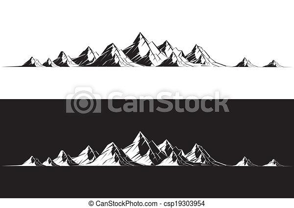 Mountain Range - csp19303954