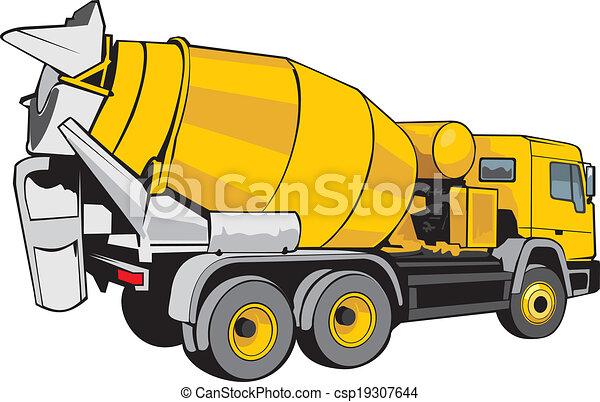 mixer for concrete