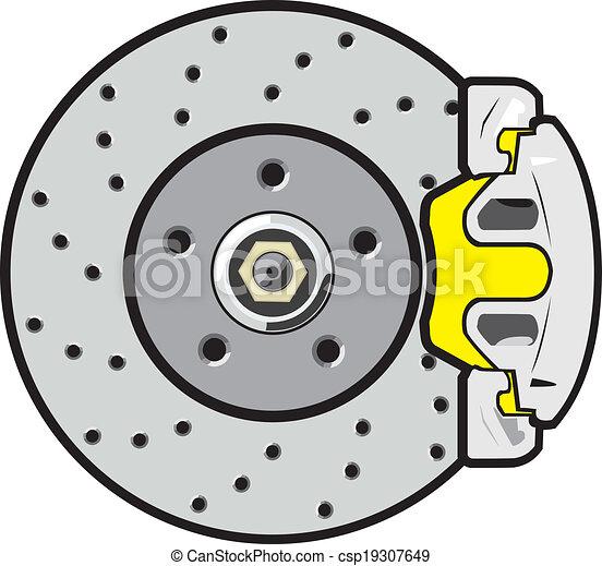 vecteur eps de voiture disque frein voiture frein disque soutien csp19307649. Black Bedroom Furniture Sets. Home Design Ideas