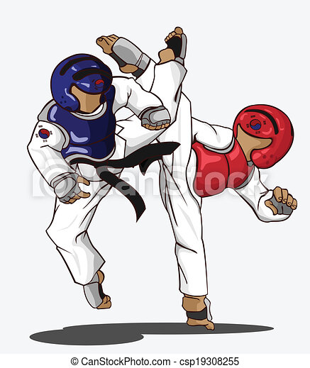 taekwondo martial art - csp19308255