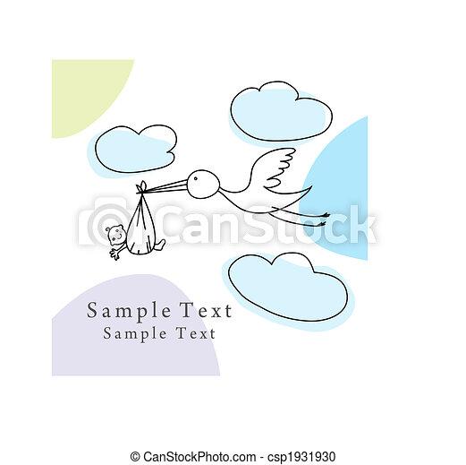 sketch greeting card - csp1931930