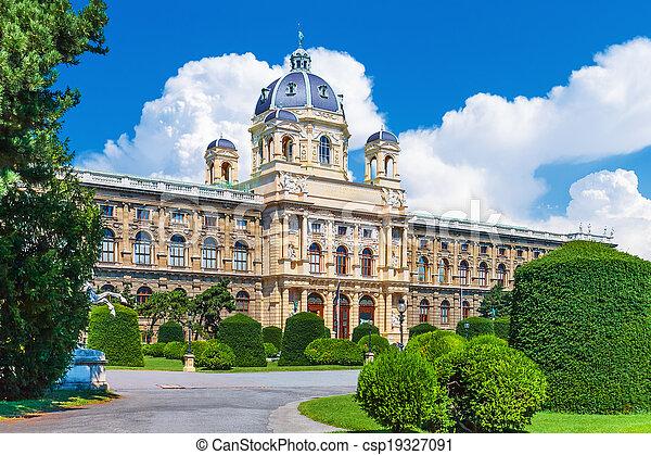 Museum of Art History in Vienna, Austria - csp19327091