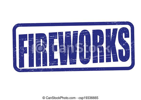 Clip Art Fireworks Free