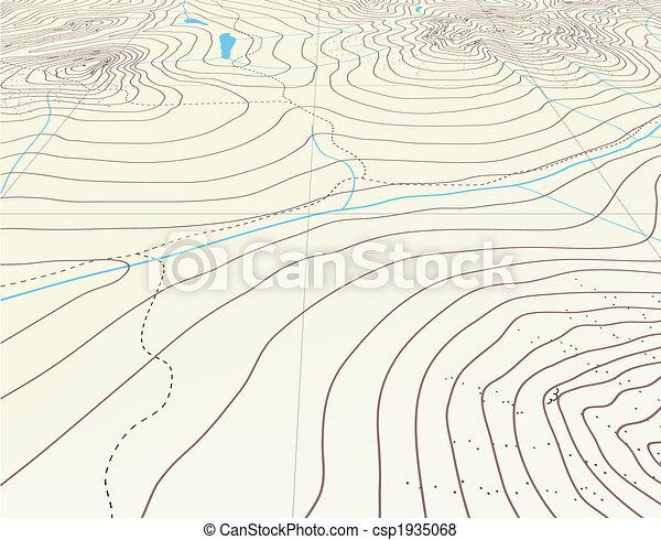 Contour background - csp1935068