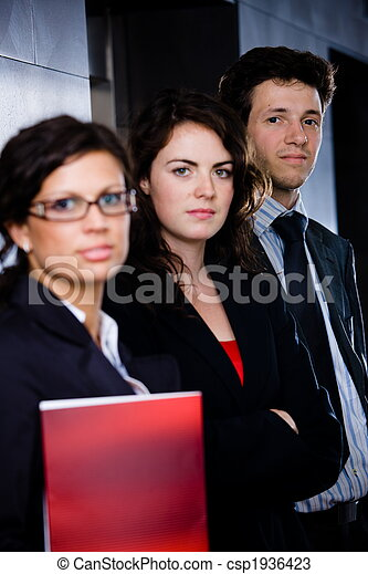Successful young businesspeople - csp1936423
