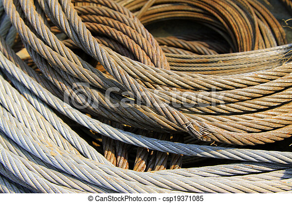 wire rope for heavy industrial use - csp19371085