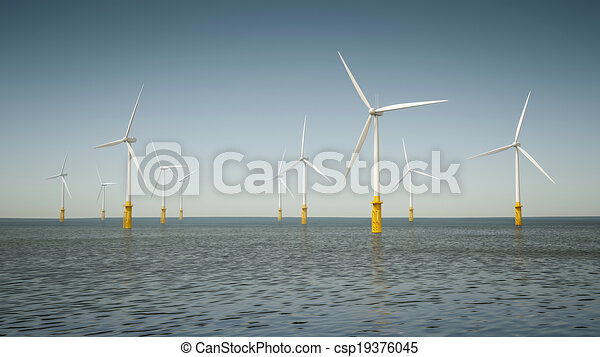 offshore wind energy park - csp19376045