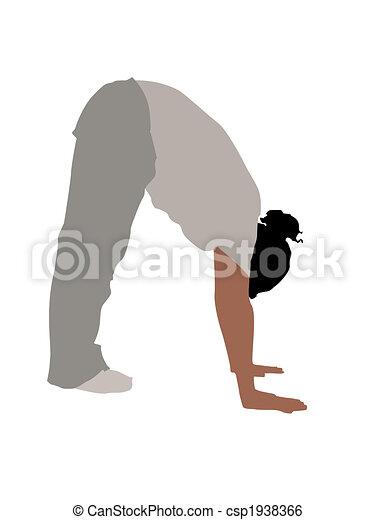 young fellow bending down - csp1938366