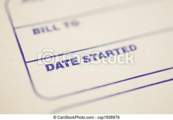 Job Start Date  - csp1938979