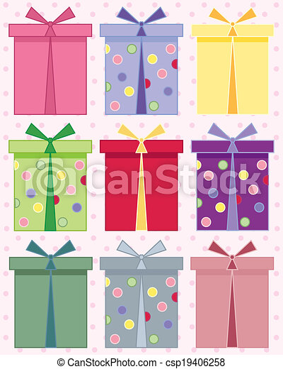 birthday present - csp19406258