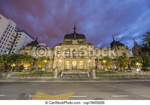 Government Palace in Tucuman, Argentina. - csp19409266