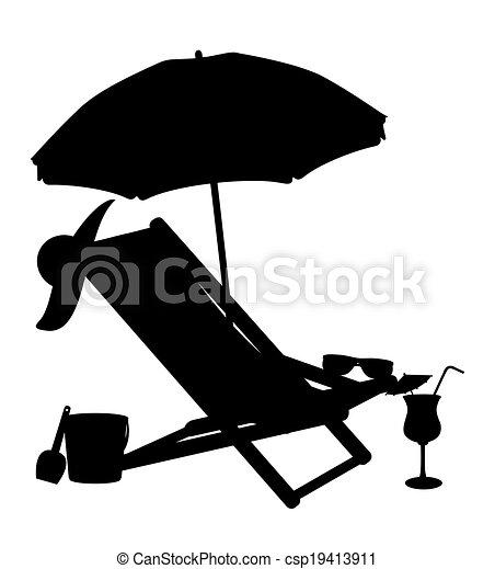 Umbrella Chair Clip Beach Chairs And Umbrellas