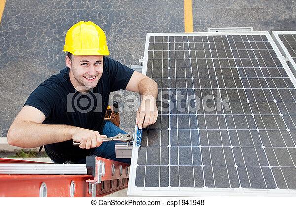 Green Jobs - Renewable Resources - csp1941948