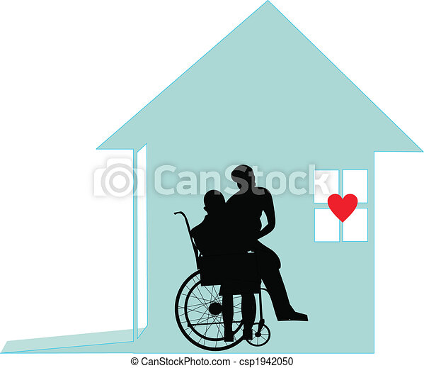 With honor and dignity, - Home care - csp1942050
