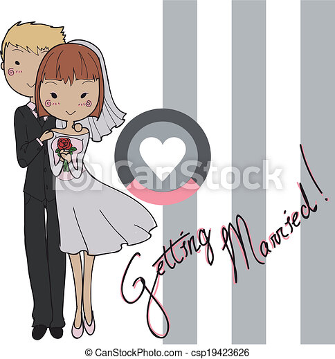 Getting married - csp19423626