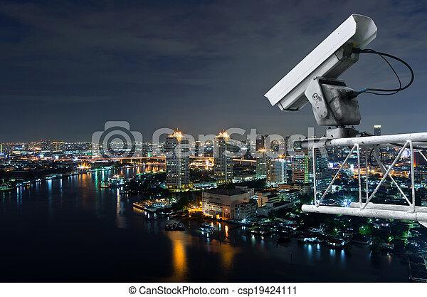 sicurezza, macchina fotografica - csp19424111