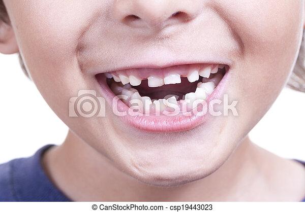 嬰孩, 牙齒 - csp19443023