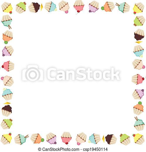Cupcake Frame - csp19450114