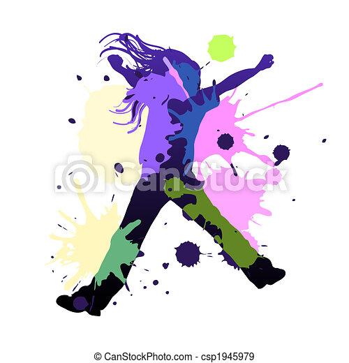 Splash dance - csp1945979