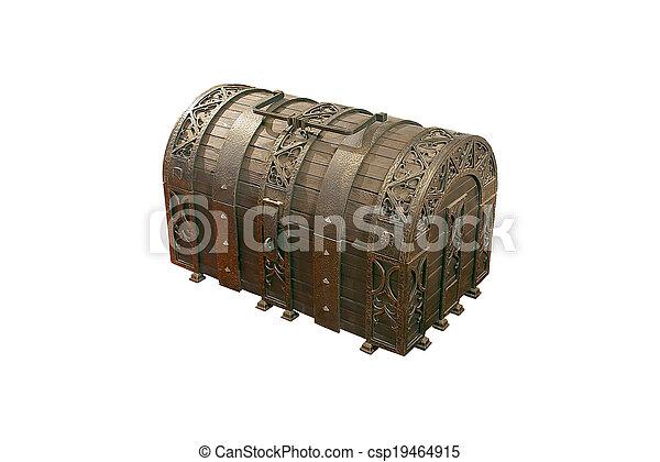 Treasure Chest - csp19464915