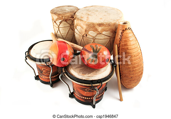 latin rhythm instruments - csp1946847