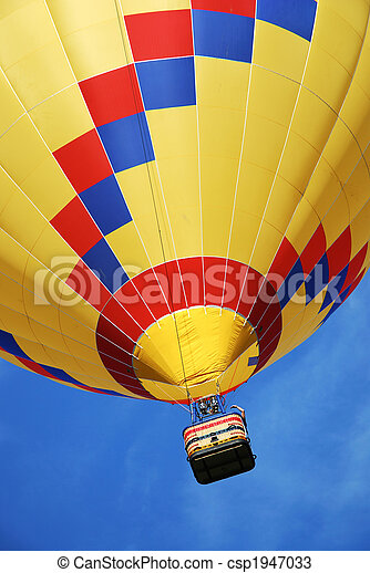 Hot air balloon - csp1947033