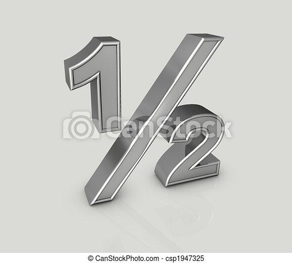 fraction one half  - csp1947325