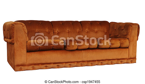 Tan Couch  - csp1947455