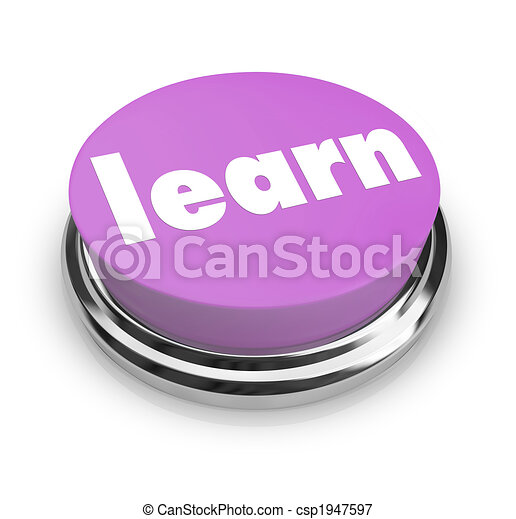 Learn - Purple Button - csp1947597