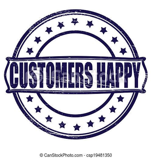 Customer happy - csp19481350Happy Customer Clipart