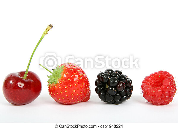 Colorful ripe fruit - csp1948224