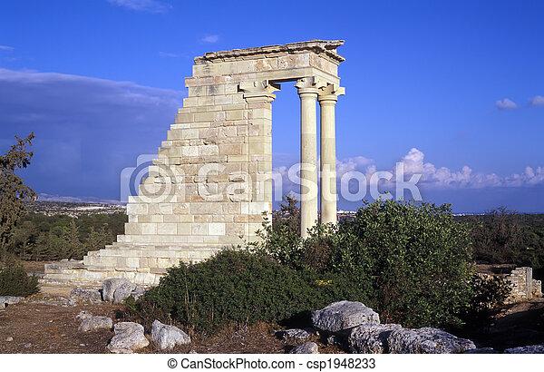 el, templo, apolo - csp1948233