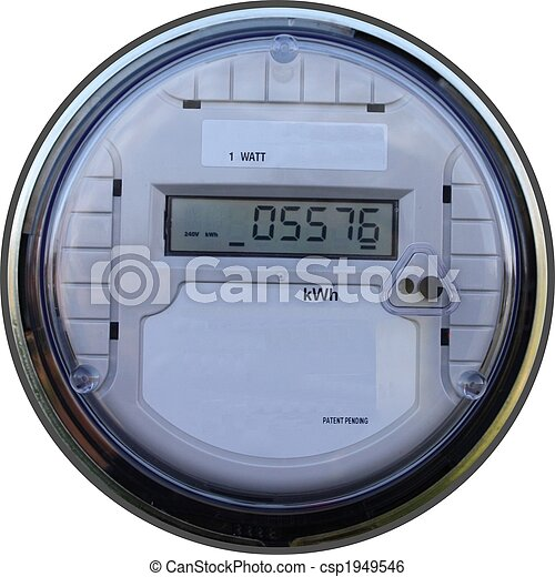 Outdoor digital meter - csp1949546