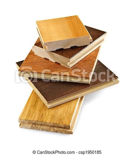 Pre-finished hardwood floor samples - csp1950185