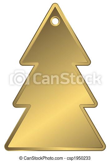Golden metallic a charm - csp1950233