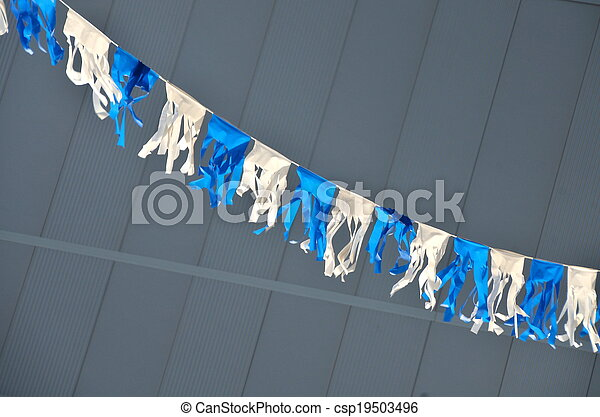 Flags on Israel\'s Independence Day