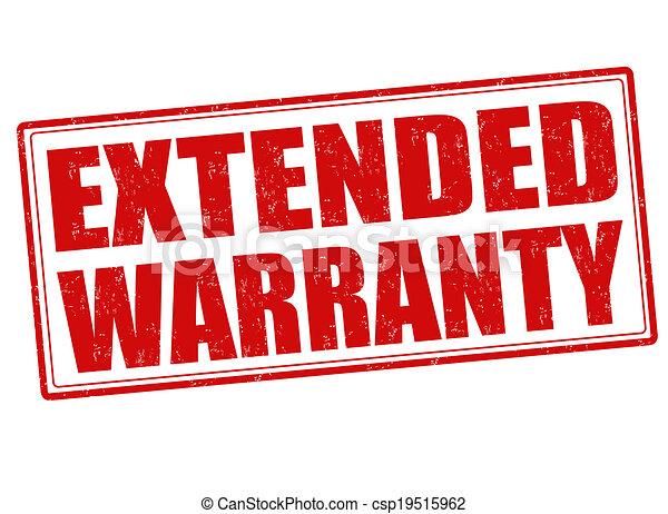 Extended Warranty Logo Extended Warranty Stamp