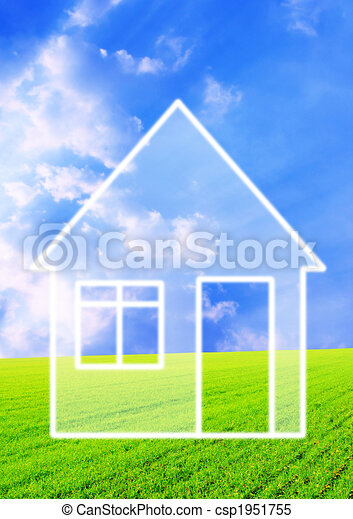 Dream of own house - csp1951755