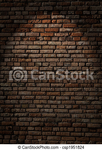 Brick wall - csp1951824