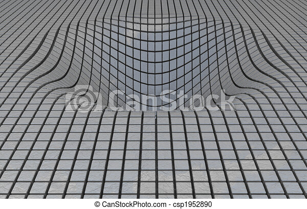 Abstract cyberspace background - csp1952890