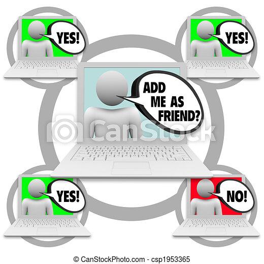 Friend Requests - Social Network - csp1953365