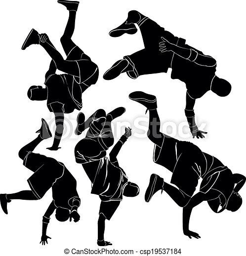 collection breakdance break dance - csp19537184