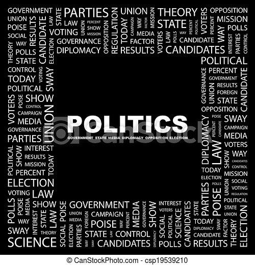 POLITICS. - csp19539210