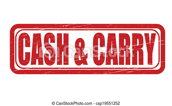 Clip Art Cash and Carry
