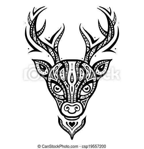 Mascots also Gangster furthermore Deer Head Ethnic Pattern 19557200 moreover Stock Vector Fox Head Low Poly Geometric Polygonal Flat Design Style Logo Element  pany Mascot Vector besides Indian head silhouette clip art. on deer head vector