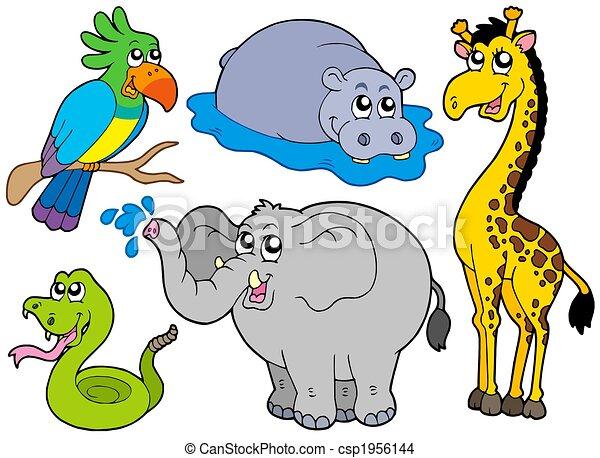 Wildlife animals collection - csp1956144
