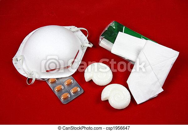 A(H1N1) Swine Flu Essentials - csp1956647